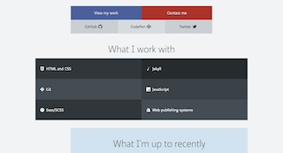 Grid view of hire page for Oliver Pattison